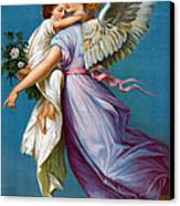 The Angel Of Peace Canvas Print by B T Babbitt