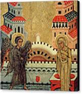 The Annunciation Canvas Print by Fedusko of Sambor