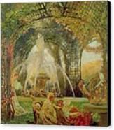 The Arbor Canvas Print