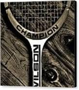 The Art Of Tennis 2 Canvas Print