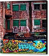 The Art Of The Streets Canvas Print by Karol Livote