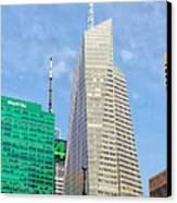 The Bank Of America Building Canvas Print by Artistic Photos