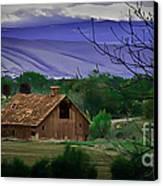 The Barn Canvas Print by Robert Bales