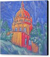 The Basilica Canvas Print by Marcia Meade