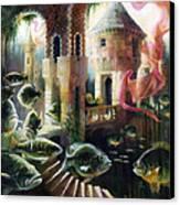 The Bass House Canvas Print