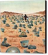 The Battlefield Canvas Print by Jera Sky