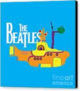 The Beatles No.11 Canvas Print