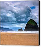 The Beautiful Cannon Beach Canvas Print