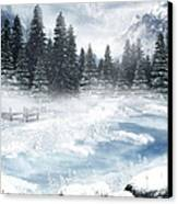The Beautiful Gothic Winter Canvas Print by Boon Mee