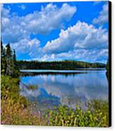 The Beautiful Lake Abanakee New York Canvas Print