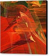 The Bird Whisperer . A120423.693 Canvas Print