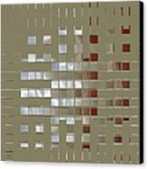 The Birth Of Squares No 1 Canvas Print by Ben and Raisa Gertsberg