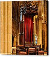 The Bishops Chair II Canvas Print