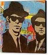 The Blues Brothers Canvas Print by Craig Pearson