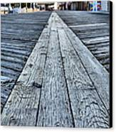 The Boardwalk Canvas Print by JC Findley