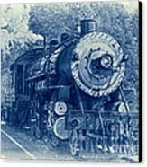 The Brakeman - Vintage Canvas Print by Robert Frederick