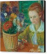 The Breakfast Porch Canvas Print by William James Glackens