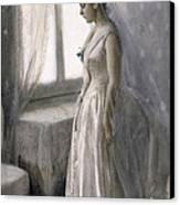 The Bride Canvas Print by Anders Leonard Zorn