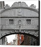 The Bridge Of Sighs Canvas Print by Bishopston Fine Art