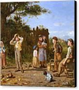 The Broken Jar Canvas Print by J O Banks