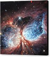 The Brush Strokes Of Star Birth Canvas Print