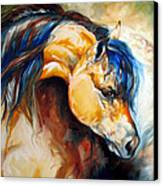 The Buckskin Canvas Print