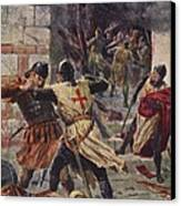 The Capture Of Constantinople Canvas Print