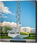 The Challenger Memorial - Bayfront Park - Miami - Hdr Style Canvas Print
