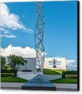 The Challenger Memorial - Bayfront Park - Miami Canvas Print by Ian Monk