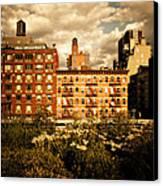 The Chelsea Skyline - High Line Park - New York City Canvas Print by Vivienne Gucwa