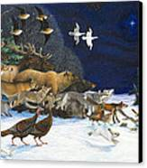 The Christmas Star Canvas Print by Lynn Bywaters