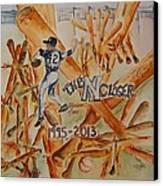 The Closer Canvas Print by Elaine Duras