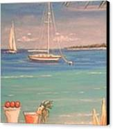The Cocktail Hour Canvas Print by The Beach  Dreamer