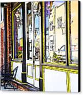 The Coffee Shop Canvas Print by Jim  Calarese