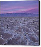 The Color Of Badwater Canvas Print