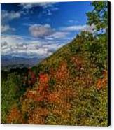 The Colors Of Fall Canvas Print by Judy  Waller