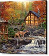 The Colors Of Life Canvas Print by Chuck Pinson