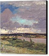 The Coming Storm Canvas Print by Charles Francois Daubigny
