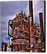 The Compressor Building At Gasworks Park - Seattle Washington Canvas Print by David Patterson