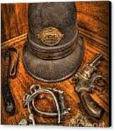 The Copper's Gear - Police Officer Canvas Print