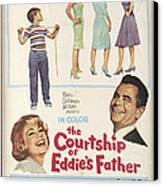 The Courtship Of Eddie's Father Canvas Print