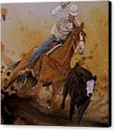 The Cowboy Way Canvas Print by Stefon Marc Brown