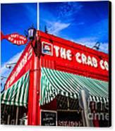 The Crab Cooker Newport Beach Photo Canvas Print
