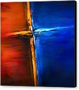 The Cross Canvas Print by Shevon Johnson