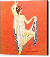 The Dance 1929 1920s Usa Nitza Vernille Canvas Print by The Advertising Archives