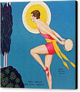 The Dance  1929 1920s Usa Ruby Keeler Canvas Print