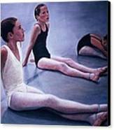 The Dance Class Canvas Print by James Welch