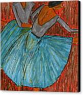 The Dancers Canvas Print by John Giardina