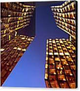 The Dancing Towers Canvas Print by Marc Huebner