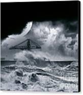 The Dark Storm Canvas Print